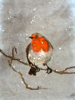 Image entitled Snow Robin