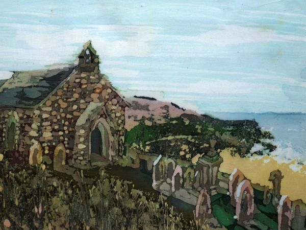 Image entitled Chapel above St Ives