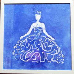Image entitled Lady in Blue