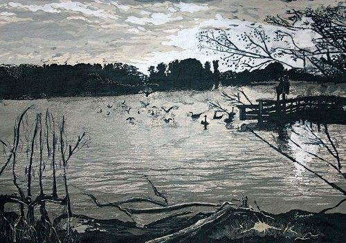 Image entitled Fleet Pond