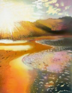 Image entitled Bright Morning Beach