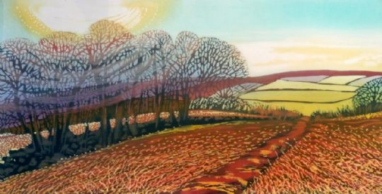 Image entitled Early Spring Trees, Danby