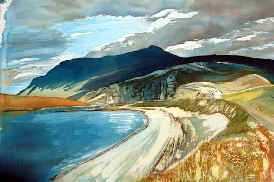 Image entitled On the Road to Ullapool