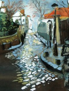 Image entitled Street in Montmartre