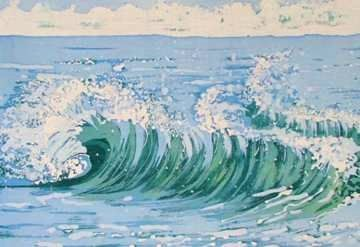 Image entitled Surfers Wave